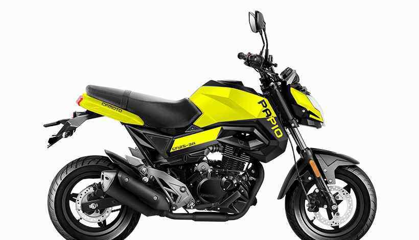 春风狒狒摩托车 春风ST狒狒mini摩托车 兼顾玩乐和时尚的个性小摩托